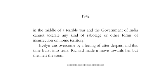 1942 - Evelyn and Richard quarrel (page 197)