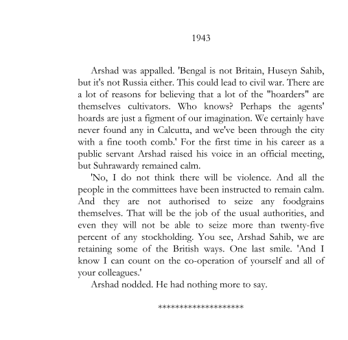 1943 - Bengali Minister's Answer to the Famine (page 327)